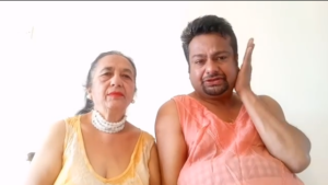 deepak kalal with mother