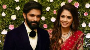 Amit Thackeray with his wife