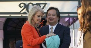 George Conway with wife